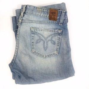 BKE Capri Denim Jeans size 31 light wash